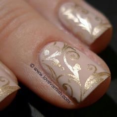 SnapWidget | Featured today on www.lovevarnish.com: Sephora by OPI XOX Betsey stamped with China Glaze 2030 China Glaze, Opi, Sephora, Gold Rings, Hair Beauty, Stamp, Nails, Hair, Finger Nails