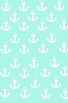 Anchor mint green