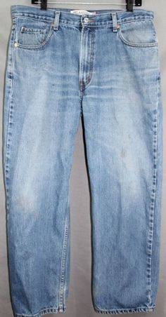 Levi's Strauss & Co Denim 36x29 Relaxed Fit 550 Size 36 x 29 #Levis #550