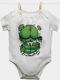 hulk the greenman marvel baby bodysuit baby showers baby t shirt baby Onesuit