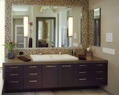 Organic Inspirations - Contemporary - Bathroom - los angeles - by Zieba Builders, Inc.