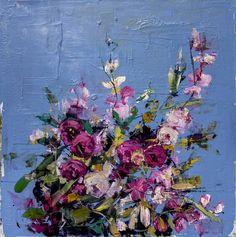 Dreaming Blue Wildflowers, carmelo blandino