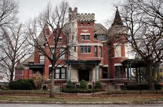 """""""The by Louis Kamper. Barry Subdivision, Detroit by Detroit… Victorian Architecture, Classical Architecture, Beautiful Architecture, Beautiful Buildings, Art And Architecture, Beautiful Homes, Old Abandoned Houses, Old Houses, Victorian Style Homes"""