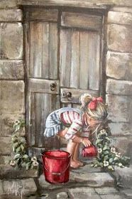 ★ℒ ★ Maria Magdalena Oosthuizen Pictures To Paint, Art Pictures, Images D'art, South African Artists, Beautiful Paintings, Painting & Drawing, Amazing Art, Watercolor Paintings, Art Drawings