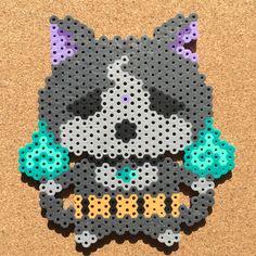 Yo-kai Watch by seinatouch(セイナタッチ)http://blogs.yahoo.co.jp/PROFILE/C7AFyusifq_iBYTtJthEnbu8 perler beads by tsubasa.yamashita fuse beads hama beads nabbi beads nano beads perler beads アイロンビーズ 拼豆 拼拼豆豆