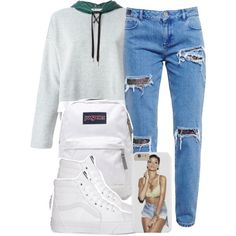 4:9:15 by codeineweeknds on Polyvore featuring T By Alexander Wang, House of Holland, Vans and JanSport