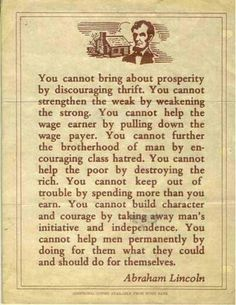 Abraham is right...