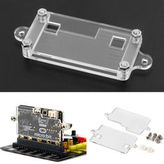 Transparent Acrylic Shell Kit For BBC Micro: bit Development Board Protection Shell
