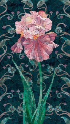 Iris Mosaic - photo from artmonument.ru      ...artist not listed...