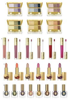 Maquiagem Estée Lauder The Metallics Collection!