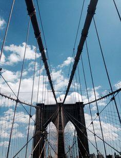 Brooklyn Bridge, NYC, NY. Remarkable sights. Must go back.