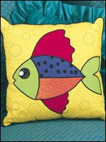 Fish Story Accent Pillow