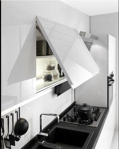 Axis Cucine Venus  kitchen cabinet modular system upper drawer no handles