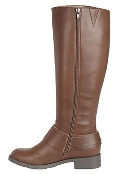 Plus Size Peggy biker boot by Comfortview® | Plus Size boots up to 50% off | Woman Within