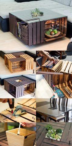 Diy Craft Table diy craft room table with ikea furniture on a budget Diy Furniture Easy, Ikea Furniture, Pallet Furniture, Furniture Ideas, Furniture Design, Farmhouse Furniture, Furniture Storage, Rustic Furniture, Modern Furniture