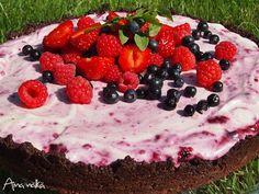 Aina nälkä: Marjakakku tuoreista marjoista #kakku