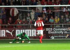 Graham Alexander was furious with his Fleetwood Town player for taking their foot off the gas.