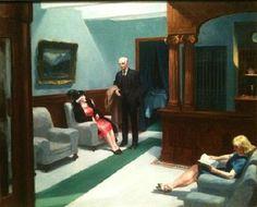 Edward Hopper – Hotel Lobby, 1943