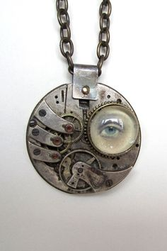"""A contemporary version of the 18th Century creations that started the """"Lover's Eye"""" jewelry genre."""