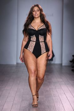 The Sexiest Looks From Ashley Graham's Crazy Sexy Lingerie Collection - Cosmopolitan.com