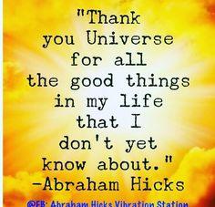 #unexpected #abrahamhicks #goodthinhsarecoming #mindsetiseverything