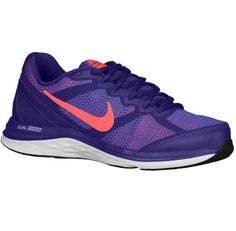 low priced c75c3 712e3 Nike Dual Fusion Run 3 - Trainers Nike Running - Women Court Purple Hyper  Grape White Hyper Punch