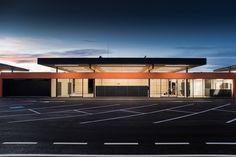 ASZ (Abfallsammelzentrum) Perg, OÖ - Austria Photo Displays, Austria, Paths, Basketball Court, Architecture, Architects, Arquitetura, Architecture Design