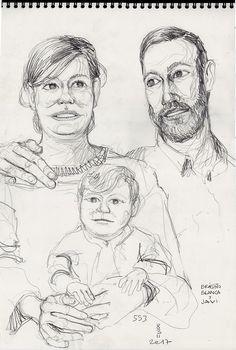 Braisiño, Blanca y Javi