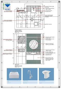 Apresentação de Projeto - Detalhamento de Banheiro