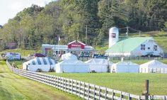 Bob Evans Farm Festival ... Rio Grande, Ohio.