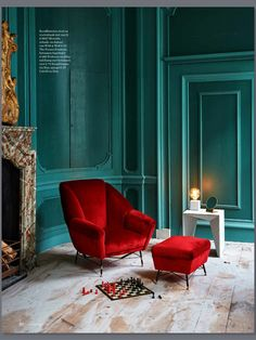 〚 Splendor of colors, textures and shapes in the works by photographer James Stroke 〛 ◾ Photos ◾Ideas◾ Design Home Design, Home Interior Design, Interior Decorating, Red Interiors, Colorful Interiors, Art Deco Interiors, Interiors Online, Beautiful Interiors, Design Case