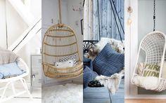 wow, leuk, een hangstoel. Ook bij Leen Bakker verkopen ze een rotan hangstoel: hangstoel Ambon #leen bakker