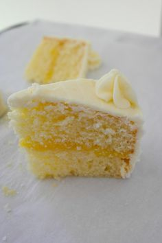 Lemon Cake with Lemon Curd filling - use this one! Includes cream cheese frosting recipe.