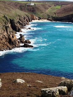 Cornwall: Looking towards Nanjizel Beach - Near Sennen Cove
