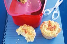 Little ham and cheese tarts