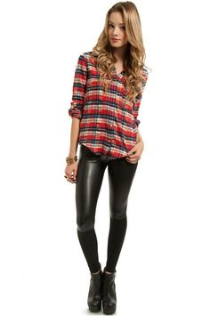 Pretty much my go to outfit in the fall and winter. Love love