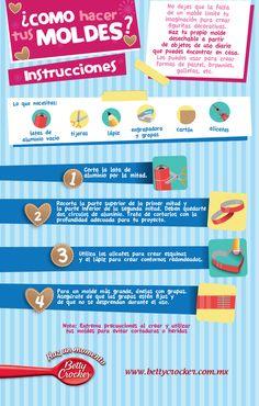 Infográfico Cómo hacer tus moldes