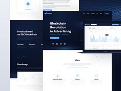 Adshares Landing Page designed by Mateusz Piatek for Connect with them on Dribbble; the global community for designers and creative professionals. Web Design Inspiration, Creative Inspiration, Design Ideas, Creative Portfolio, Best Web Design, Landing Page Design, Problem And Solution, Crypto Currencies, Blockchain