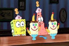 I'm a Goofy Goober Yeah! You're a Goofy Goober Yeah! We're a Goofy Goober Yeah! Spongebob Patrick, Spongebob Memes, Cartoon Memes, Spongebob Squarepants, Cartoon Characters, Cartoons, Funny Patrick, Lego Spongebob, Spongebob Ice Cream