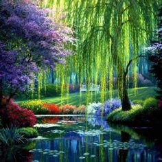 Monet's Garden, Giverny France (One of the most amazing places on Earth. I would go there everyday if I could. Have been a few times.)