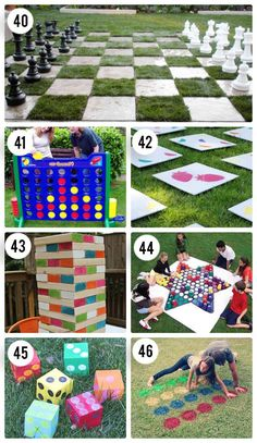 OUT DOOR MEMORY GAME 65 Outdoor Party Games for the Entire Family!