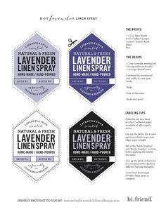 Restored Style | Lavender linen spray | Bungalow Decor & Restoration