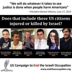 US citizens have been routinely murdered & injured by the Israelis. Zionism is evil.