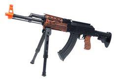 Spring Spec Ops AK-47 Sniper Rifle FPS-260 Bipod Airsoft Gun