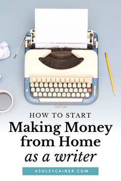Learn how to master your copywriting skills and start your own business from home as a freelance writer. Find out how to sharpen your writing and earn and income as a writer even as a beginner. I'm Ashley Gainer and I teach freelance writing for beginners. All on how to work from home as a copywriter and make money. #copywriting #freelancewriter #workfromhome