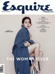 Son Ye Jin on the Cover of Esquire Korea February 2018 Korean Actresses, Korean Actors, Korean Star, Korean Girl, Fashion Photography Inspiration, K Idol, Esquire, Photography Women, Bellisima