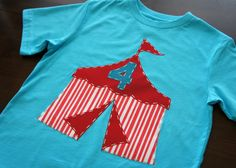 Carnival/ Circus Birthday shirt from AStitchUponAStar on etsy.com