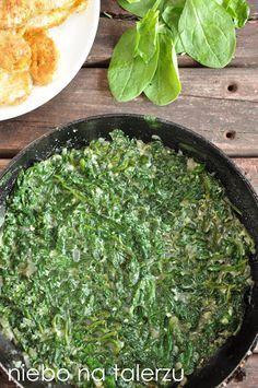 niebo na talerzu: Szpinak Seaweed Salad, Palak Paneer, Side Dishes, Salads, Lunch Box, Keto, Vegetables, Ethnic Recipes, Food