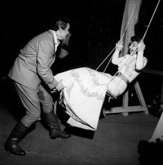 """Franco Corelli & Maria Callas - """"Fedora"""" 1956 http://www.archiviolascala.org/"""
