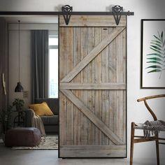 Sliding Door Design, Sliding Door Systems, Sliding Doors, Traditional Doors, Single Doors, Clean House, Tall Cabinet Storage, House Design, Flooring